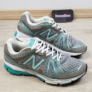New Balance Sneakers USA 890v2 Silver Mint Green